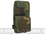Airsoft Elite Drop Leg Accessory Thigh Pouch - Woodland