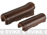 VFC Imitation Wood Handguard Set for AK74 Series Airsoft AEG Rifles