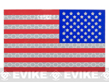 Reflective IR US Flag Patch - Full Color / Reverse