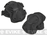 GxG Tactical Knee & Elbow Pad Set - Black