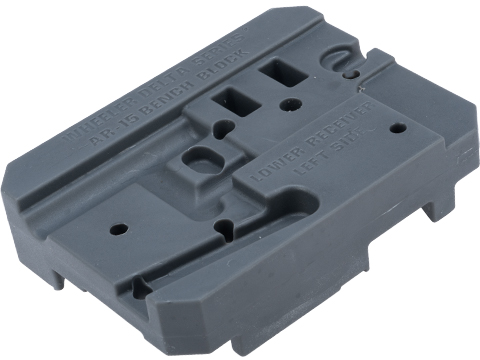 Wheeler Engineering Delta Series AR Armorer's Block for AR-15 Rifles