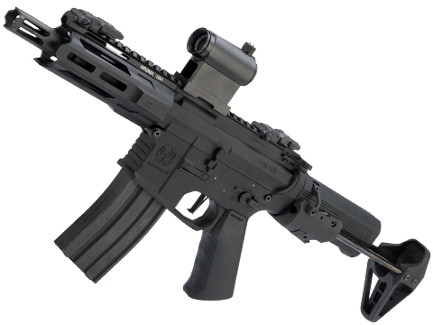 Krytac Trident MKII PDW-M Airsoft AEG Rifle (Color: Black)