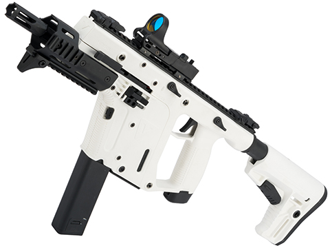 KRISS USA Limited Edition Alpine White KRISS Vector Airsoft SMG by Krytac (Model: High Velocity)