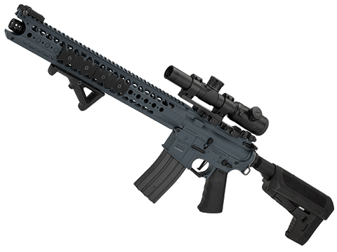 Krytac War Sport Licensed LVOA-C M4 Carbine Airsoft AEG Rifle (Model: Combat Grey)