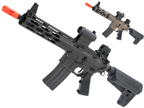 Krytac Alpha CRB Airsoft AEG Rifle (Package: Black / Gun Only)