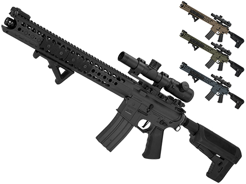 Krytac War Sport Licensed LVOA-C M4 Carbine Airsoft AEG Rifle (Color: Black)