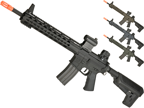 Krytac Full Metal Trident MKII SPR Airsoft AEG Rifle (Color: Black)