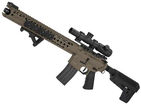 Krytac War Sport Licensed LVOA-C M4 Carbine Airsoft AEG Rifle (Model: Flat Dark Earth)