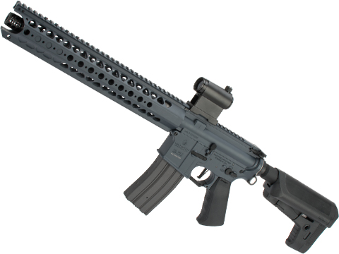 Krytac War Sport Licensed LVOA-S M4 Carbine Airsoft AEG Rifle (Model: Combat Grey / 400 FPS)