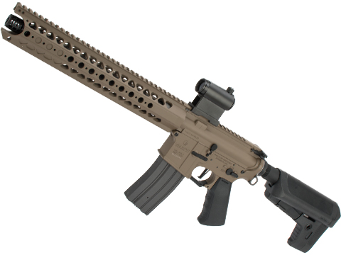 Krytac War Sport Licensed LVOA-S M4 Carbine Airsoft AEG Rifle (Model: Flat Dark Earth / 350 FPS)