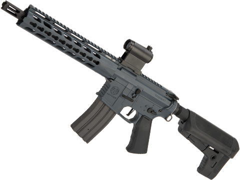 Krytac Full Metal Trident MKII CRB Airsoft AEG Rifle (Model: Combat Grey / 400 FPS)