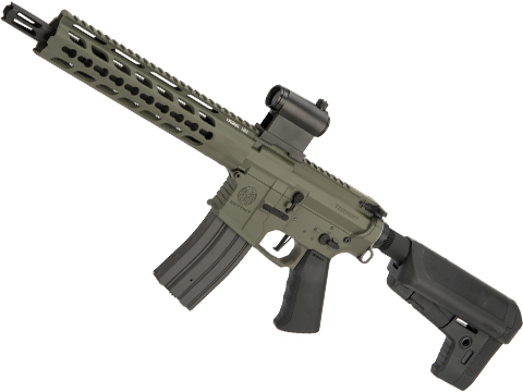 Krytac Full Metal Trident MKII CRB Airsoft AEG Rifle (Model: Foliage Green / 400 FPS)