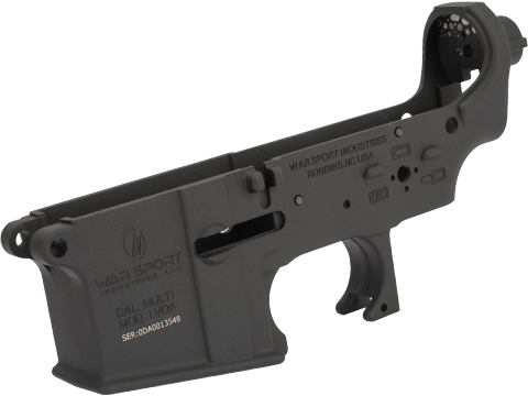 Krytac War Sport LVOA Stripped Lower Receiver (Color: Black)