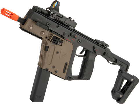 KRISS USA Licensed Kriss Vector Airsoft AEG SMG Rifle by Krytac (Model: Stock / Dual-Tone)