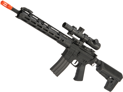 Krytac Full Metal Trident MKII-M SPR Airsoft AEG Rifle (Color: Black)