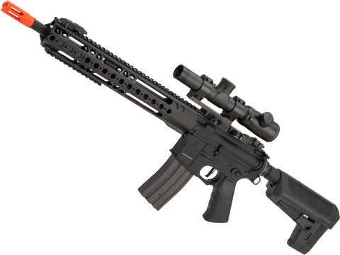 (MEMORIAL DAY SALE!) Krytac War Sport Licensed GPR-CC Full Metal M4 Carbine Airsoft AEG Rifle (Color: Black)