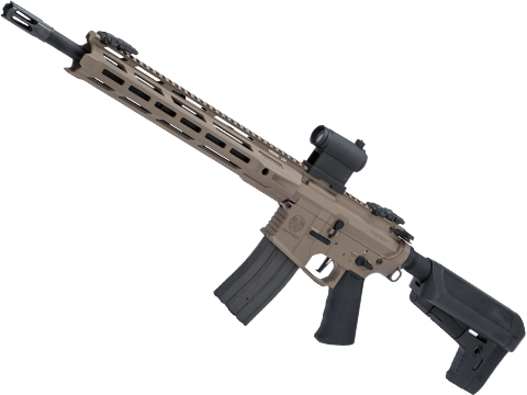 Krytac Full Metal Trident MKII-M SPR Airsoft AEG Rifle (Color: Flat Dark Earth)