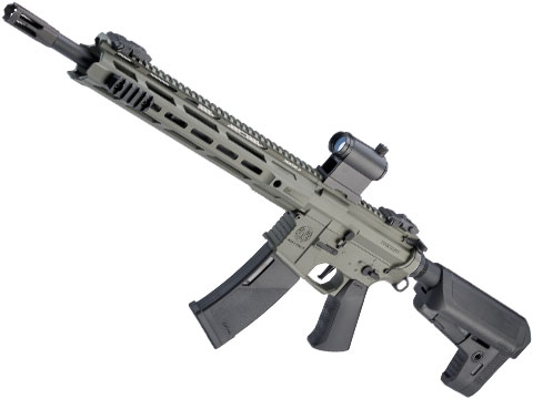 Krytac Trident MKII-M SPR Airsoft AEG Rifle (Color: Foliage Green)