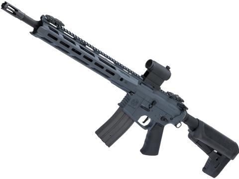 Krytac Full Metal Trident MKII-M SPR Airsoft AEG Rifle (Color: Combat Grey)