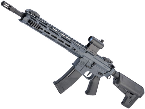 Krytac Trident MKII-M SPR Airsoft AEG Rifle (Color: Combat Grey)