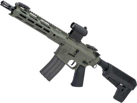 Krytac Full Metal Trident MKII-M CRB Airsoft AEG Rifle (Color: Foliage Green)
