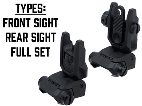 Krytac Defiance Flip-Up Back Up Sights