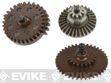 Krytac Steel Alloy Enhanced Torque Gear Set for Airsoft AEGs - 18:1 Ratio