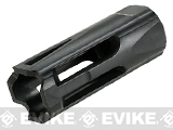 Krytac Black Flash Hider 14mm Negative and Set Screw