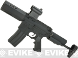 Krytac Full Metal Alpha SDP Airsoft AEG Rifle - Black