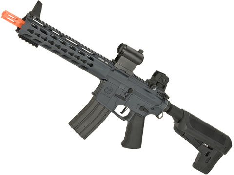 (10 MAGAZINE BUNDLE DEAL) Krytac Full Metal Trident CRB Airsoft AEG Rifle (Color: Combat Grey)