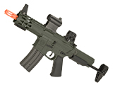 Krytac Full Metal Trident MKII PDW Airsoft AEG Rifle (Color: Foliage Green)