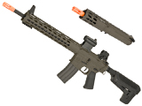 Krytac Full Metal Trident MKII SPR / PDW Upper Airsoft AEG Rifle Package (Color: Dark Earth)