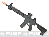 (10 MAGAZINE BUNDLE DEAL) Krytac Full Metal Trident SPR MKII Airsoft AEG Rifle (Color: Combat Grey)