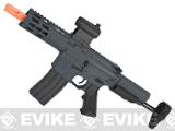 Krytac Full Metal Trident PDW Airsoft AEG Rifle - Wolf Grey Special Edition