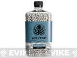 Krytac Polished 6mm Airsoft BBs (Weight: .28g / 4000 / White)