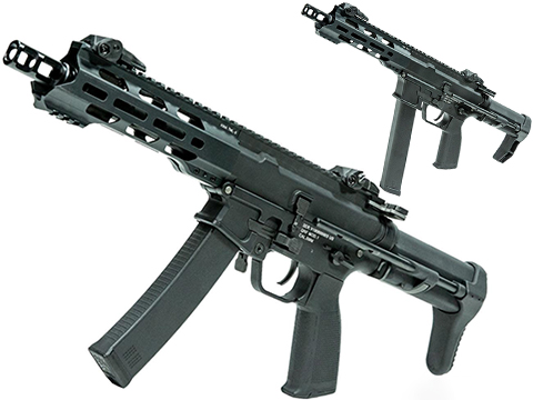 KWA QRF Pistol Caliber AR w/ Adjustable FPS AEG 2.5 Gearbox (Model: MOD.1)