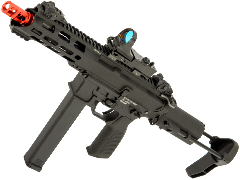 KWA QRF Pistol Caliber AR w/ Adjustable FPS AEG 2.5 Gearbox (Model: MOD.2)