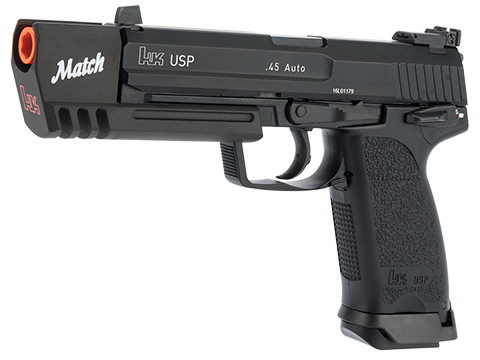 Evike.com Exclusive Heckler & Koch USP Match Gas Blowback Airsoft Pistol by KWA (Package: Pistol Only)