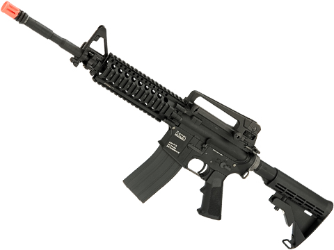Evike.com Custom KWA LM4 Gas Blowback Rifle with Madbull Daniel Defense AR15 Lite 7 Rail