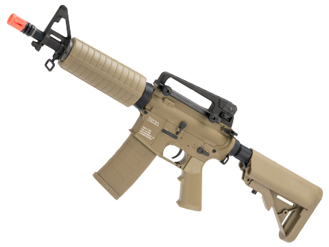 KWA KM4 / M4 CQB SBR Airsoft AEG Rifle (Color: Flat Dark Earth)