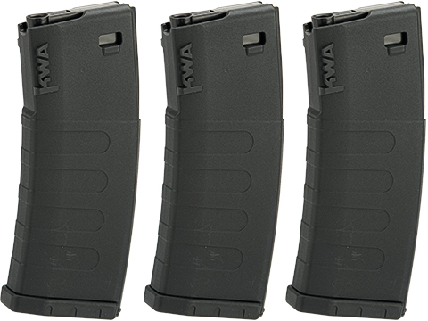 KWA K120C Variable Capacity 30 / 120 Round Magazines for KWA ERG / AEG2.5 / AEG3 Rifles (Qty: 3 Pack)