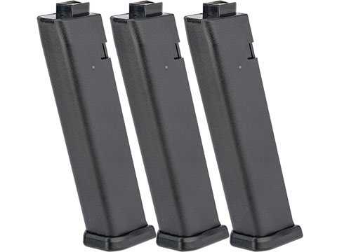 KWA 80rd Magazines for QRF MOD.2 Airsoft AEG (Package: 3 Pack)