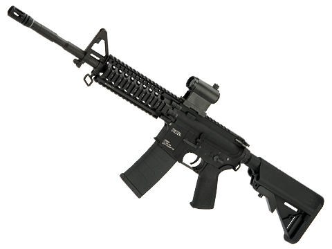 Evike Custom KWA VM4-A1 V2.5 M4 Carbine Airsoft AEG with 7 Daniel Defense AR15 Lite Rail