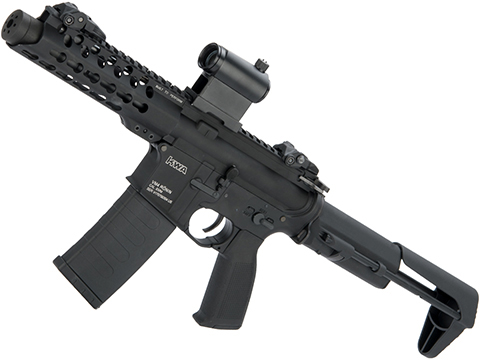 KWA AEG 2.5 VM4 Full Metal Ronin 6 Airsoft PDW with Keymod Handguard