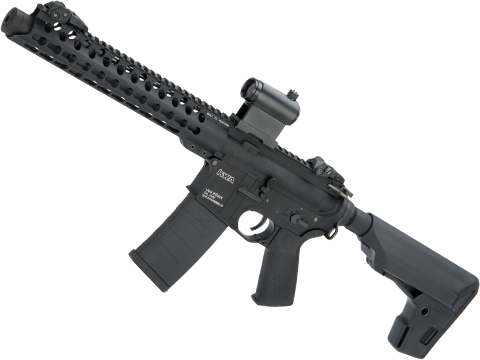 KWA AEG 2.5 VM4 Full Metal Ronin 10 Airsoft SBR with Keymod Handguard