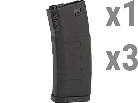 KWA K400 400rd Polymer Hi Capcity Magazine for M4 / M16 Series Airsoft AEG Rifles