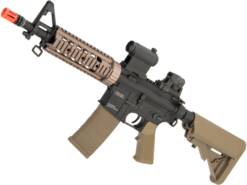 KWA Full Metal KM4 SR7 CQB Airsoft AEG Rifle (Color: Flat Dark Earth)