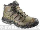 Salomon XA Pro 3D MID GTX Forces 2 Tactical Boots - Iguana Green / Dark Khaki / Iguana Green (Size: 11)
