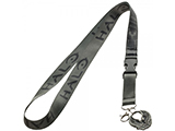 HALO 5 Guardians Logo Lanyard w/ Medallion & ID / Badge Holder - Green / Black