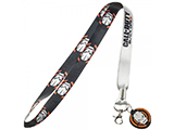 Call of Duty Black Ops III Logo Lanyard w/ Medallion & ID / Badge Holder - Black / White